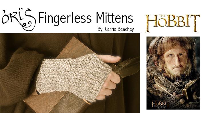 Ori's fingerless mittens