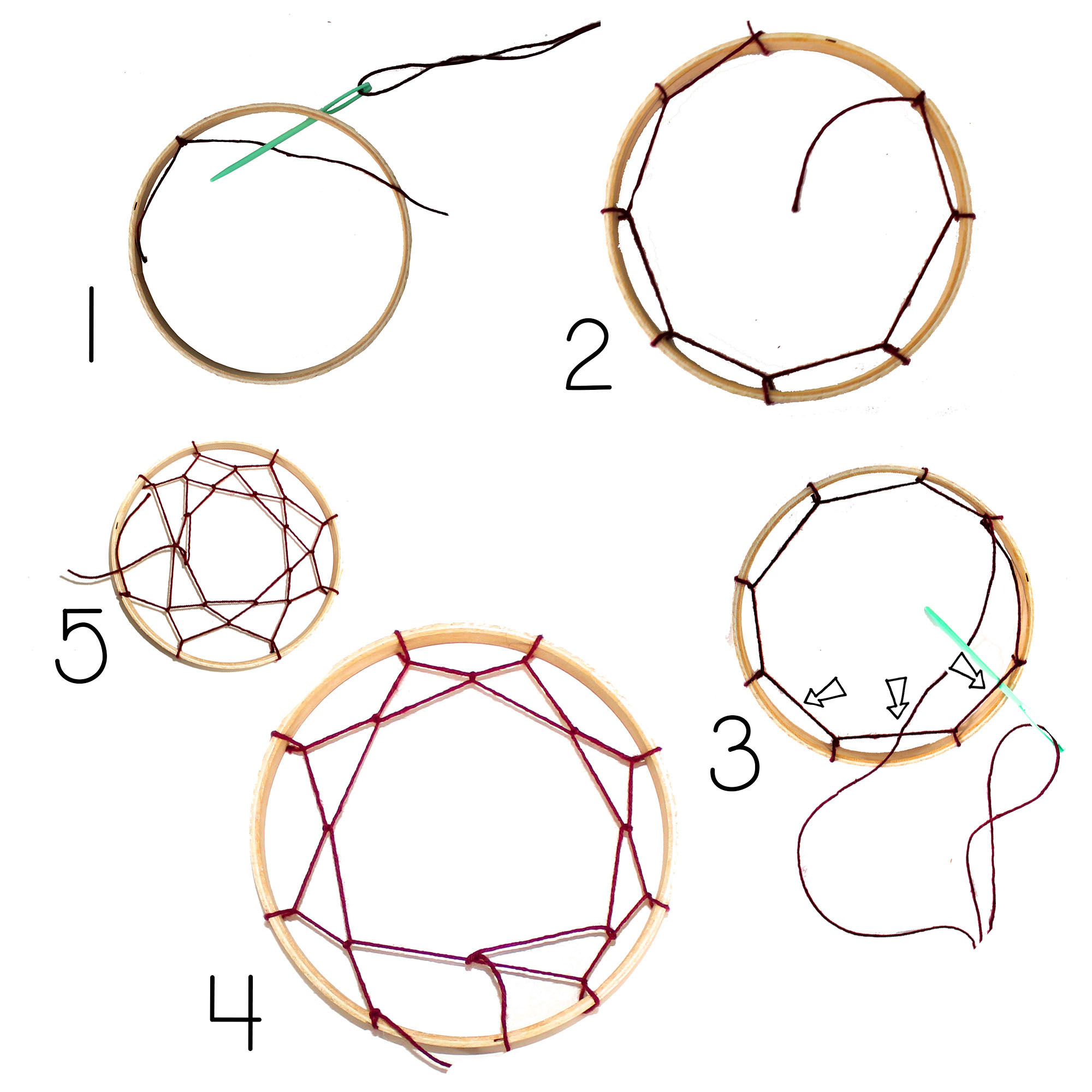Dream catchers for How to make dreamcatcher designs