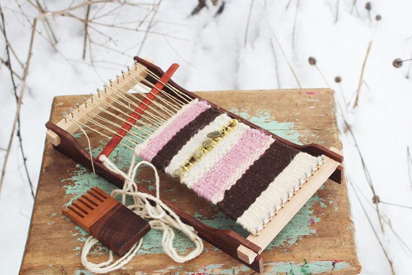 Winter Weaving