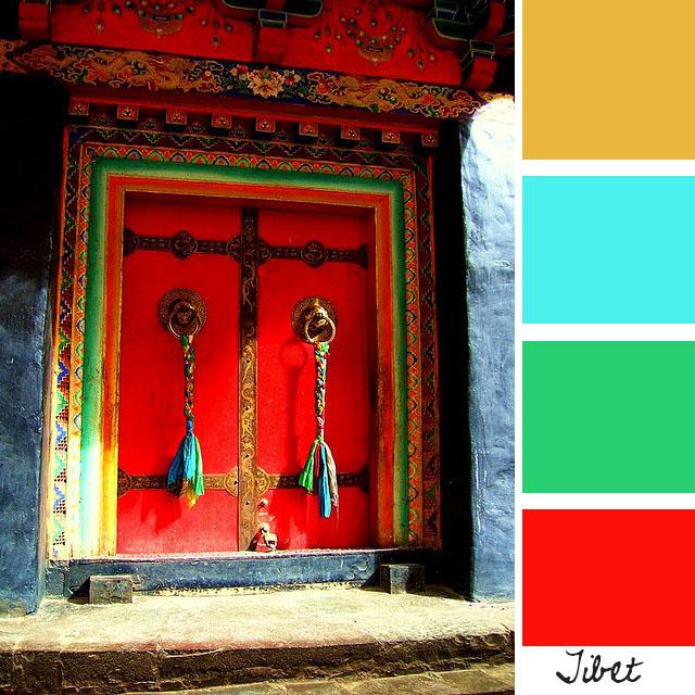 Tibetan Color Scheme