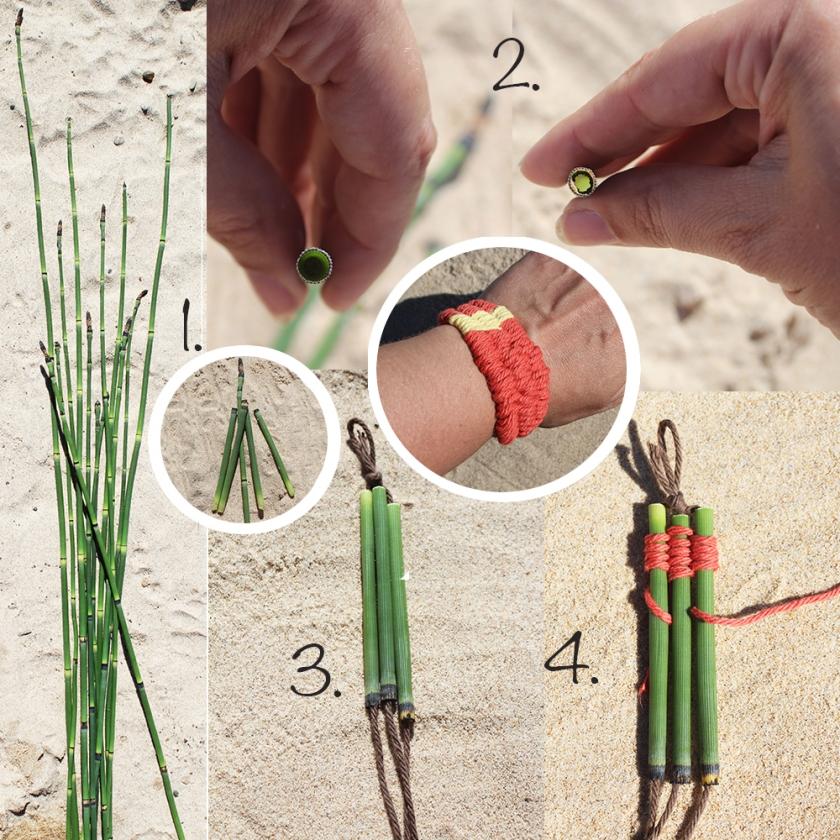 Snake Grass Weaving