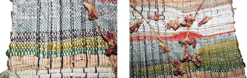 close ups wedding weaving