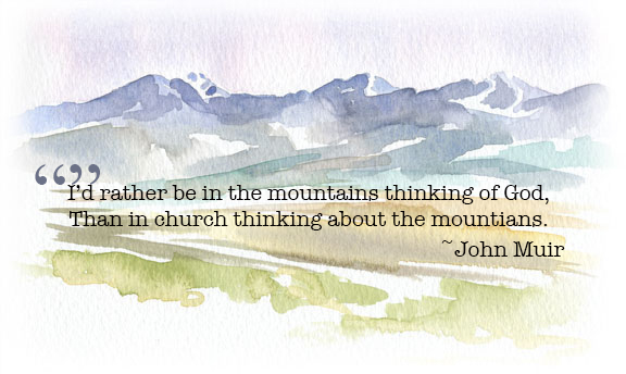 God & Mountains