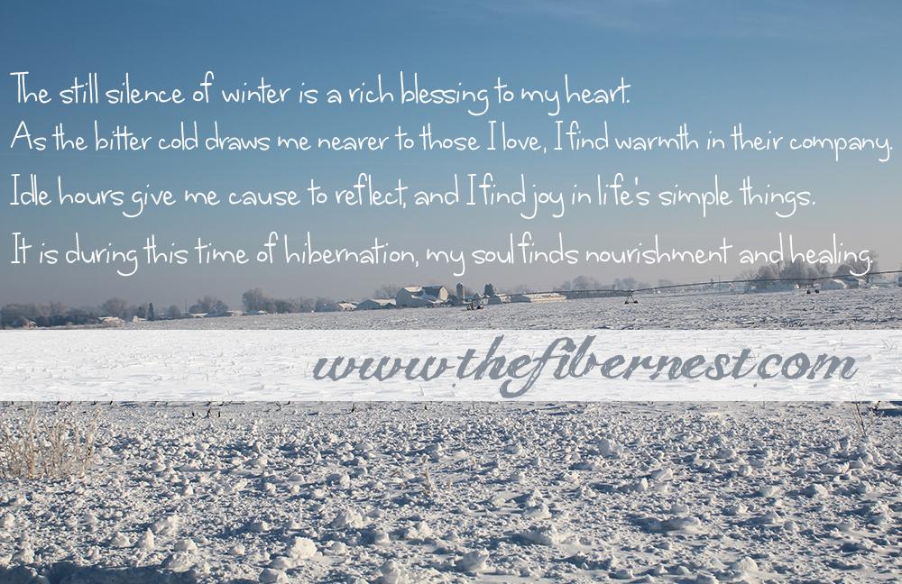 A Winter Manifesto