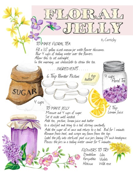 Floral Jelly